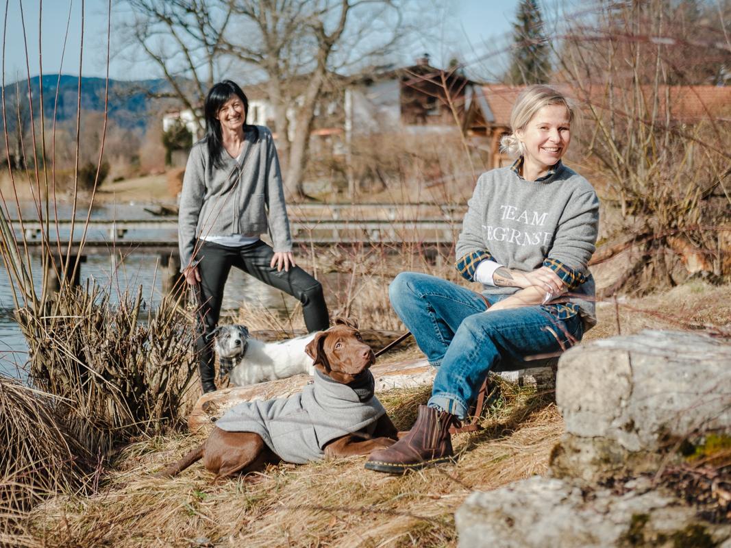 LakeDogs Gründerinnen Tanja_Zwetkoff und Margit_Wälder