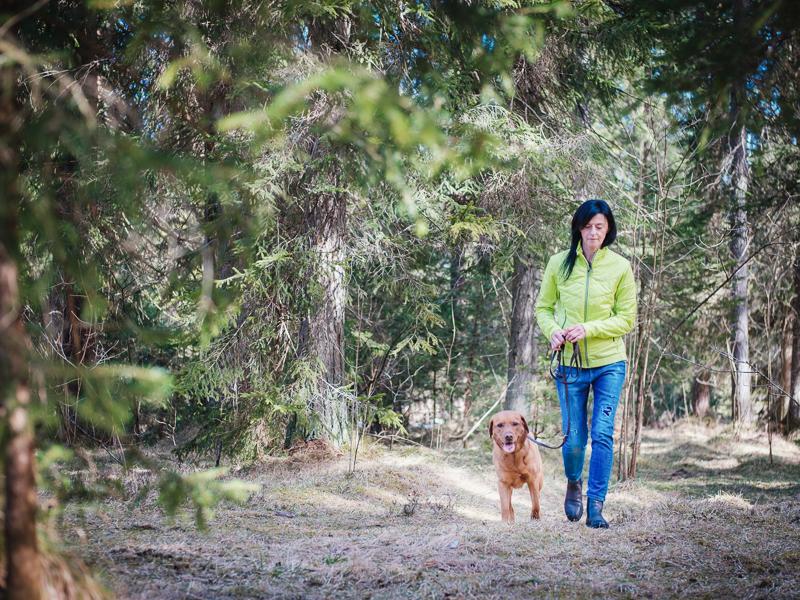 LakeDogs Hundetraining mit Margit Wälder, Outdoor Hundetraining, Fährtensuche
